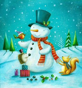 Snowman and Squirrel
