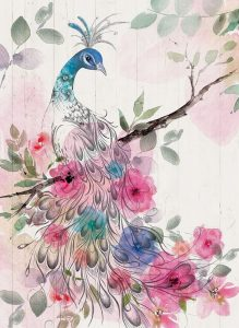 Peacock Floral