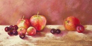 Cherries and Apples (detail)