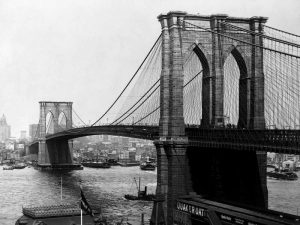 Brooklyn Bridge New York 1900