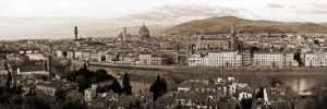 Panoramic view of Florence