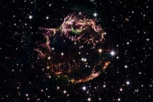 Supernova Remnant Cassiopeia A – March 2004