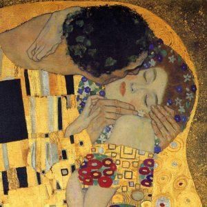 The Kiss – detail 3