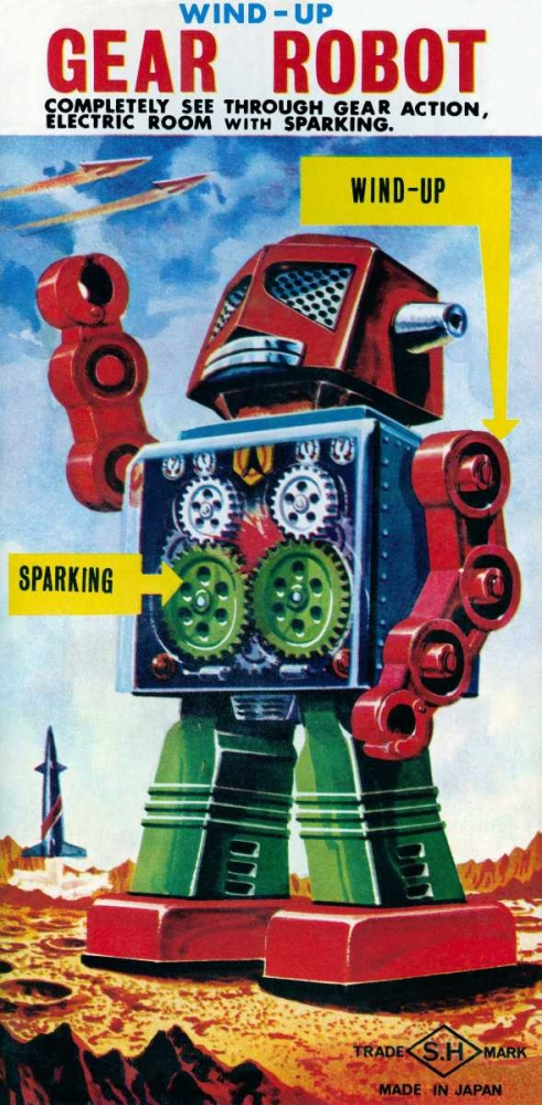 Wind-up Gear Robot