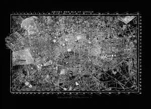 London Map Circa 1860