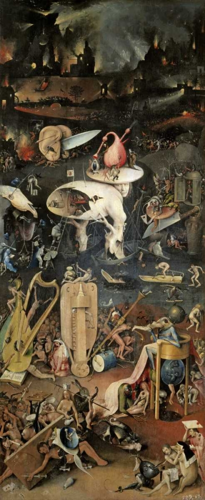 Garden of Earthly Delights – Detail, Right Panel