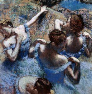 Blue Dancers – Les Danseuses Bleues