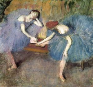 Two Dancers Resting, c. 1905-1910