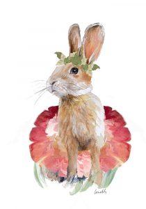 Ballet Bunny I
