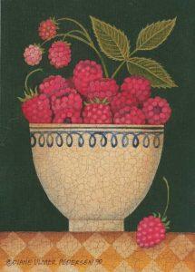 Cup O Raspberries