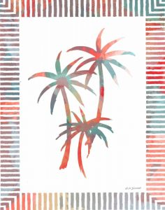 Watercolor Palms III