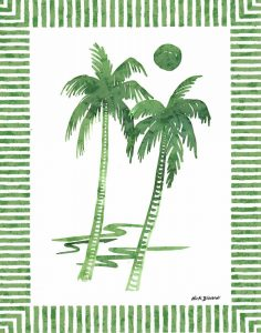 Green Palms I