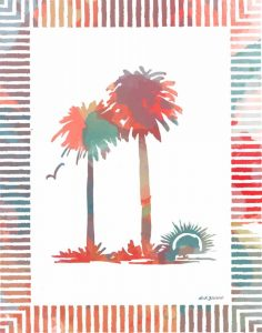Watercolor Palms IV