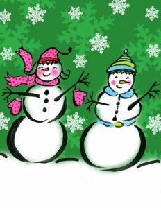 Silly Snowmen V