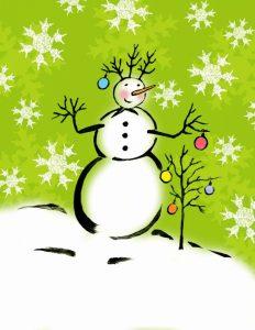 Silly Snowmen IV