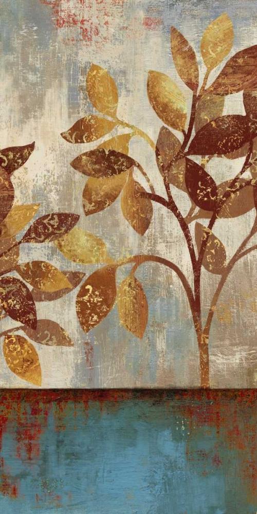 Bronze Leaves I