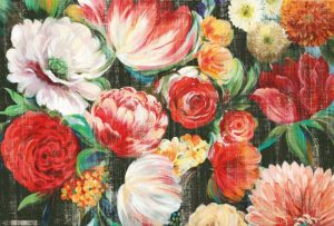Lush Floral I – Mini