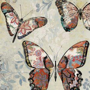 Patterned Butterflies I