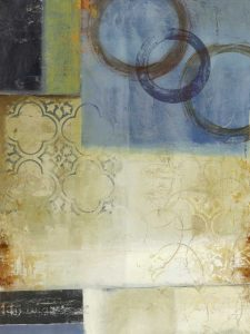 Composition in Blue I