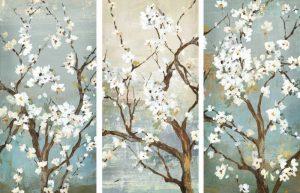Triptych in Bloom
