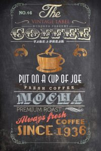 Coffee Menu I – Mini