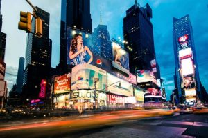 Times Square Rays of Light II