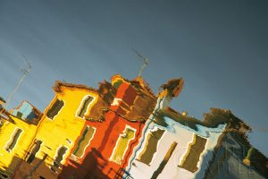Reflections of Burano XI