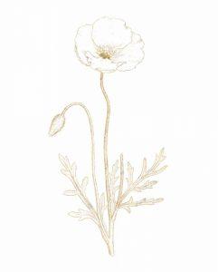 Gilded Botanical I