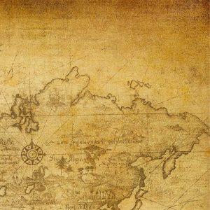 Vintage Map D