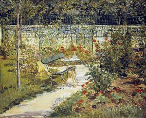 The Bench, Garden at Versailles