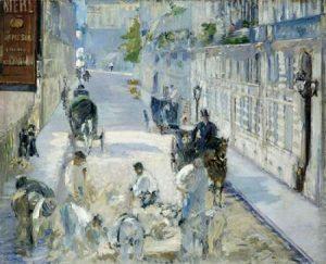 Rue Mosnier with Workmen