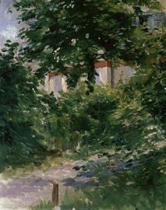 Path in the Rueil Garden