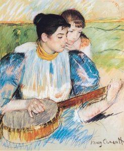 The Banjo Lesson, 1894