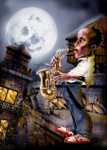 The Saxophonist -2