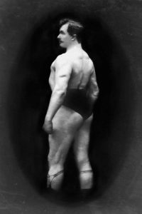 Bodybuilders Back and Partial Left Profile