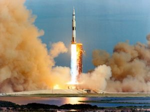 Launch of the Apollo 15 Mission to the Moon, 1971