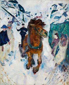 Galloping Horse, 1910-1912
