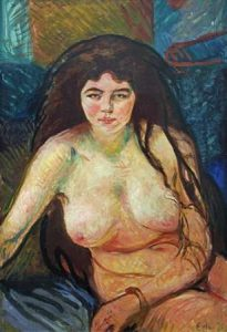 Female Nude; The Beast, 1902