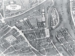 Plan of Paris 1730 – I