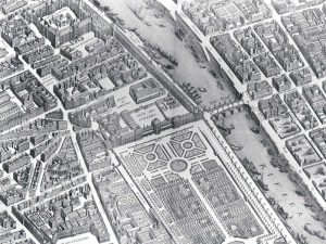 Plan of Paris 1730 – IV