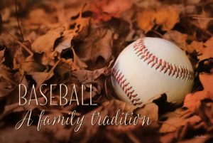 Baseball – A Family Tradition