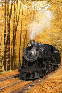 Fall Locomotive