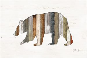 Wood Slat Bear