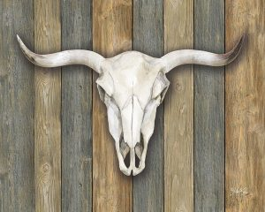 Cow Skull II