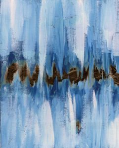 Abstract Blue I