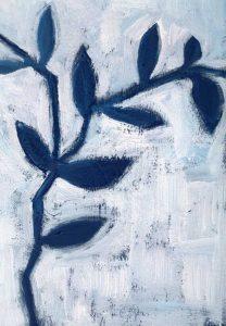 Blue and White I