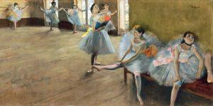 The Dance Class (detail)