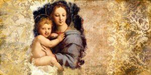Madonna del Candelabro-after Raffaello