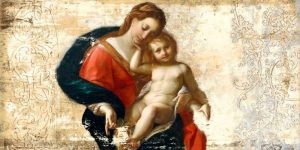 Madonna and Child-after Procaccini