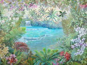 Cascata tropicale (detail)